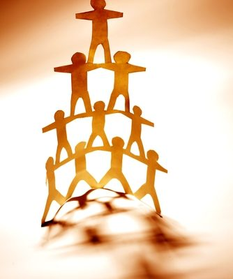 Build a pyramid of leadership at your recruitment agency.